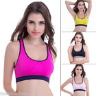 FL Women Ladies Sport Running Yoga Bra Stretch Workout Tank Tops