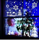 Window Decor Wall Tattoo Stars Winter Landscape Window Decor Window Picture