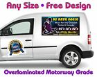 Pair Of Magnetic Signs Van Car Trailer New Full Colour Free Professional Design