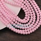 Bulk Wholesale Round Glass Loose Spacer Beads 4mm 6mm 8mm 10mm Crafts Findings