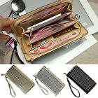 New Stylish Women Leather Clutch Long Wallet Card Holder Case Handbag Coin Purse