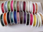 'Gorgeously Groovy' Grosgrain Ribbon - 16mm & 22mm  - Various Colours & lengths