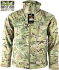 Mens British Army Combat Military Trooper Shark Jacket Recon Smock Fleece Camo