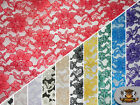 """Lace Floral Rachelle Fabrics / 60"""" Wide / Sold by the yard"""