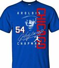Chicago Cubs Aroldis Chapman Signature Style T- Shirt  - Adult Sizes Brand New