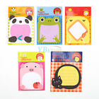 Cartoon Animal Panda Little Chicken Shape Notes Index Tab Sticky Note Memo Pads