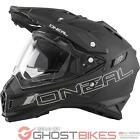 Oneal Sierra Solid Dual Sport Helmet Adventure Off Road Quad Enduro Bike Lid ECE