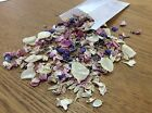 Real Confetti Petals in pouches Biodegradable Natural Wedding - with Delphinium