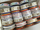 FUN MIX Mini Reels ribbon ANIMALS / CHEF / RAINBOW - various widths / lengths