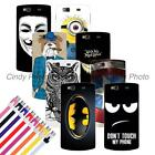 For Samsung Wave 3 S8600 Micro USB Sync Data Charger Cable Cover Case Rose Owl