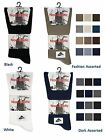 6 Mens No Non Elastic LYCRA® Cotton Rich Loose Wider Top Socks UK 6-11