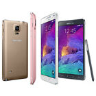 Samsung Galaxy Note 4 4G LTE GSM N910 Factory Unlocked 32GB Smartphone - SRB for sale  Canoga Park