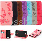 Flip Magnetic Wallet Cartoon butterflys PU leather stand Soft phone cover case I