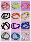 Colorful Oval Oblong Flat Shape Shell Spot Grain Loose Beads Fashion Finding DIY