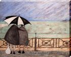 Sam Toft It's A Wonderful Life Canvas Print 50x40cm