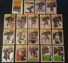 1983-84 OPC BOSTON BRUINS Select from LIST NHL HOCKEY CARDS O-PEE-CHEE