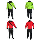 Front Entry Kayaking Dry Suit M/L/XL Drysuits with Relief Zip and Soft Socks