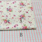 50cm*160CM Flower 100%cotton fabric Quilting Quilt Bedding Sewing DIY22