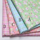 50cm*160CM Flower 100%cotton fabric Quilting Quilt Clothes Bedding Sewing DIY27