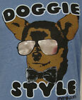 NEW Mens DAVID & GOLIATH Doggie Style Blue T-Shirt MADE IN THE USA