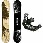 New 2017 Camp Seven Roots CRC Snowboard +APX Bindings Men's Snowboard Package