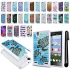 For ZTE Lever LTE Z936L Anti Shock Studded Bling HYBRID Case Phone Cover + Pen