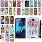 For Motorola Droid Turbo 2 Kinzie Moto X Force TPU SILICONE Soft Case Cover +Pen