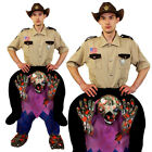 ZOMBIE PICK ME UP COSTUME ADULTS HALLOWEEN FANCY DRESS UNISEX MENS WOMENS