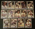 1985-86 OPC NEW YORK ISLANDERS Select from LIST NHL HOCKEY CARDS O-PEE-CHEE