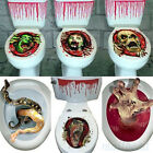 Halloween Toilet Seat Grabber Cover Scary Horror Party Decoration Topper Sticker