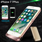 10000mAh External Power Bank Pack Back Battery Charging Case For iPhone 7 7Plus