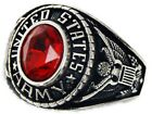 New Women's US Army Rhodium Plated Ring Sizes 5-10