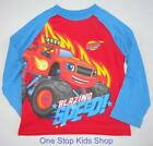 BLAZE AND THE MONSTER MACHINES Toddler Boys 2T 3T 4T Long Sleeve SHIRT Tee Top