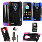 Car Charger For Zmax Pro Z981 Phone Case Cover Stand Car Charger Screen Guard
