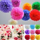 1pcs Home Decor Pom Poms Baby Shower Decoration Flower Balls Tissue Paper