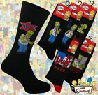 3 Mens THE SIMPSONS Cartoon Novelty 100% OFFICIAL Character Socks UK 6-11