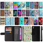 For Sony Xperia X F5121 F5122 Design Flip Wallet Leather POUCH Case Cover + Pen