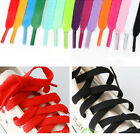 Flat ShoeLaces Bootlaces Trainers Skate Athletic Shoelaces 29 Color String laces