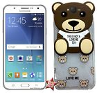 CUSTODIA COVER TPU ORSO TEDDY TOY per SAMSUNG GALAXY CORE PRIME G360H + VETRO