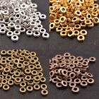 FREE SHIP 100Pcs TIBETAN SILVER & GOLD & BRONZE Charms Spacer BEADS 6MM B3039