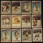 1976-77 OPC BOSTON BRUINS Select from LIST NHL HOCKEY CARDS O-PEE-CHEE $3.33 CAD on eBay