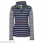 Joules Fairdale Ladies Sweatshirt (V) New Style  Colour French Navy Stripe UK 16