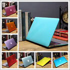 "Crystal See-through Hard Case Cover for MacBook 12""/ Air Pro 11"" 13"" 15""+Retina"