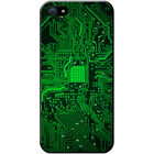 Circuit Motherboard Computer Close Up Hard Case For iPhone SE
