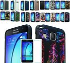 Tempered Glass+2Layer Slip-free Shock Case Cover For Samsung Galaxy On5 SM-G550