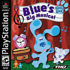 Blues Clues: Big Musical [EC] COMPLETE Sony Playstation 1 PS1 PSX Game