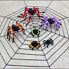 HOT Halloween Props Large Spider Plush Layout Decorations Festival Terror Prop
