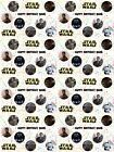Star Wars Personalised Birthday Gift Wrapping Paper ADD NAME/S CHOOSE BACKGROUND $4.47 USD on eBay