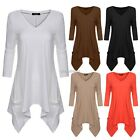 New Fashion Women Loose Long Sleeve Tops Blouse Shirt Casual Cotton T-Shirt N98B