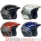WULFSPORT AIRFLO TRIALS OPEN FACE OFF ROAD BIKE MOTOCROSS WULF HELMET